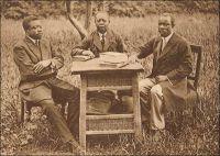 Les pasteurs J. Kuo-Isédu, J. Ekolo, J. Modi-Din. – Il s'agit de pionniers de l'église protestante camerounaise, appelés par les circonstances particulières à leur époque à assumer des responsabilités habituellement dévolues à des missionnaires occidentaux.  Après la défaite allemande de la première guerre mondiale, le Cameroun fut placé par la Société des Nations sous mandat britannique, dans sa partie ouest, et français, dans sa partie est. La France n'autorisa pas le retour de missionnaires étrangers, et leurs stations furent confiées à la Société des missions évangéliques de Paris, qui, faute de missionnaires disponibles, s'en remis aux pasteurs locaux. Ainsi, c'est aux pasteurs Joseph Ekolo, Joseph Kuo, Jacob Modi Din, mais aussi aux pasteurs Lotin et Martin Itondo que revint la charge des  églises protestantes du Cameroun sous mandat français. Joseph Ekolo et Joseph Kuo, tous deux catéchistes, avaient été consacrés pasteurs en 1912 à Bonabéri, par le missionnaire Dinkelacker. Jacob Modi Din fut consacré la même année à Bonadouma par le missionnaire Lutz, et commença à exercer son ministère dans la région de Douala. Résistant aux avances des autorités allemandes, qui voulaient exploiter la forte influence qu'il avait acquise dans la région, il fut emprisonné dès le début de la guerre.  Le premier pasteur évangélique camerounais avait été Johannes Man Eleme Deibol, consacré en 1901 par la mission de Bâle, et mort en 1908. Source : Messina, J-P. et Van Slageren, J., Histoire du Christianisme au Cameroun – Des origines à nos jours, Paris, Karthala, 2005.