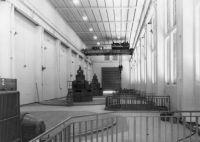 Edéa, vue intérieure de l'usine hydroélectrique - années 1950.