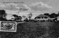 Haus des Bezirksamtmannes in Edea - Carte postale écrite le 12.07.21