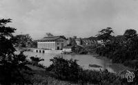 Edéa, la centrale et le barrage, 32 000 kw