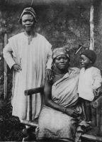 Famille chrétienne de Foumban.