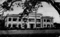 Douala, le Palais de justice - Le bâtiment a été construit en 1931.