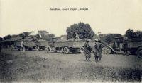 Abengourou, traite du cacao, le transport – En 1948, le cercle d'Abengourou produit 6800 t. de cacao.