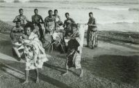 Dancers Adowah african music, about 1960