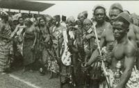 Ashanti warriors, about 1960