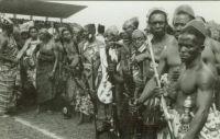 Ashanti warriors, about 1960
