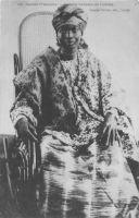 Guinée Française, femme soussou en toilette