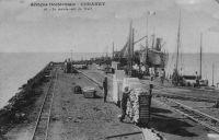 Conakry, le mouvement du wharf