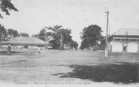 Conakry, Hôtel du port et Avenue de la Gare