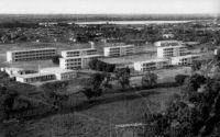 Ouagadougou, le collège - vers 1950.