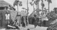 Village indigène (Haute Volta)
