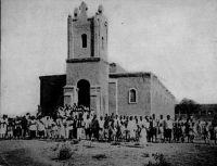 Sortie de messe à Ouagadougou