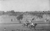 Ouagadougou, place du marché - Carte écrite en 1932