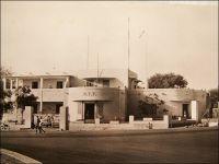 Niamey, la poste en 1958.
