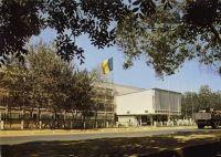 Fort Lamy, palais du gouvernement – La capitale du Tchad change de nom en 1973 pour devenir N'djamena. Carte postée en 1971.