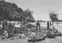 Niamey, marché aux poteries