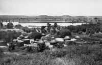 Village de Yantala où se trouve l'usine électrique qui fournit Niamey
