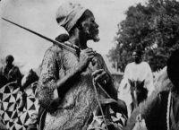 Tchad, chevalier moyenâgeux - Carte postée en 1931.