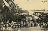 Procession à Gorée