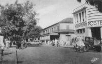 Dakar, l'avenue William Ponty - devenue peu après la disparition du président français avenue Georges Pompidou