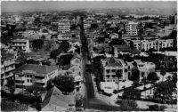Dakar, vue générale rue Vincens