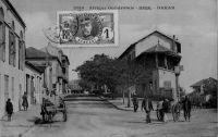 Dakar, boulevard Pinet-Laprade, avenue de la Gare - postée en 1911