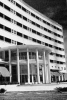 Dakar, l'Hôtel de N'Gor vers 1955