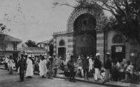 Dakar, un coin du marché Kermel, postée en 1942
