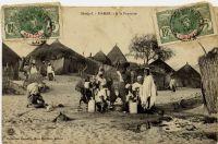 Dakar, à la fontaine - postée en 1909