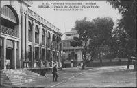 Dakar, Palais de Justice - il s'agit de l'ancien Palais de Justice devenu depuis la Chambre de Commerce