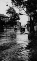 Dakar, la rue Victor Hugo sous la pluie