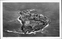 Vue générale de l'île de Goréee