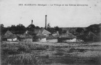 Makhana, le village et les usines élévatoires - Ces installations sont chargées d'envoyer de l'eau douce à Saint Louis