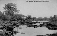 Sénégal, rapides du fleuve aux basses eaux