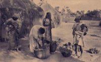 Dakar, pileuses de mil