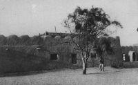 Tombouctou, dans l'enceinte du fort Bonnier : la