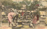 Porto Novo, sur le marché.