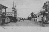 Lomé, Hamburger strasse – 1910 - La rue d'Hambourg.