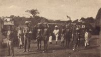 Togo, missionnaire en tournée.